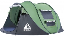 Hewolf Tent Review: Automatic Pop-up 2-4 Person Model